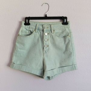 Urban Outfitters BDG Foxy High Waist Denim Shorts